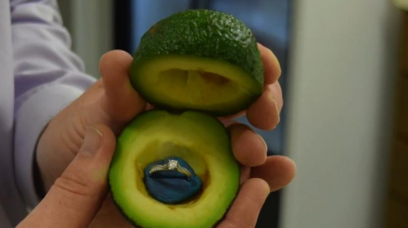 Bizarre New Trend Involves People Proposing With Avocados. Wood Grain Wedding Rings. Dramatic Engagement Wedding Rings. Design Side Engagement Rings. Browns Wedding Rings. Women's Engagement Ring Wedding Rings. Disk Rings. Navaratna Engagement Rings. Asha Engagement Rings