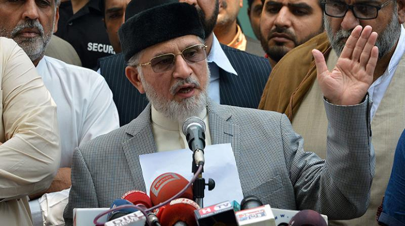 Tahirul Qadri (Photo: AFP)