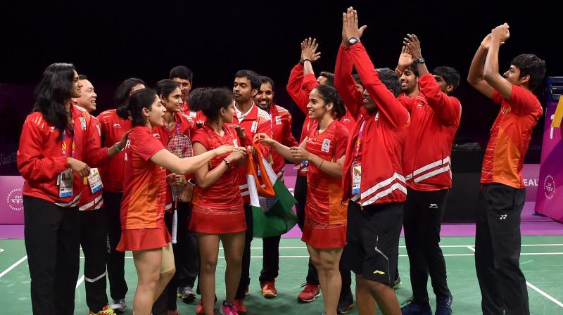 Pullela Gopichand said that the gold medal in the badminton team championship was the highlight of the 21st edition of the Games for him. (Photo: PTI)
