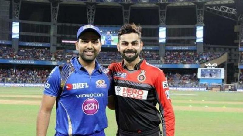 Rohit Sharma-led Mumbai Indians' top priority on Tuesday would be to end their winless jinx in the Indian Premier League (IPL), when they host an equally-struggling Royal Challengers Bangalore (RCB) at Wankhede Stadium on Tuesday. (Photo: BCCI)