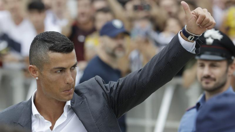 Ronaldo and Portugal later face Virgil Van Dijk and the Netherlands in the UEFA Nations League final match. (Photo: AP)