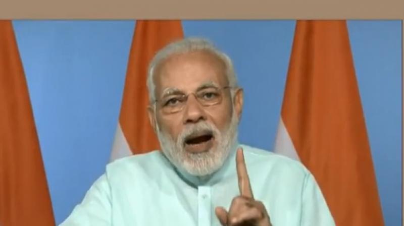 Prime Minister Narendra Modi. (Photo: Screengrab/narendramodi.in)