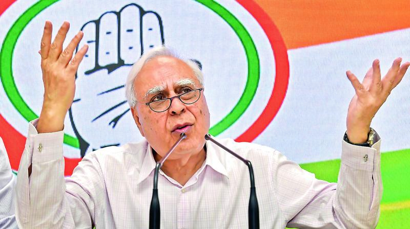 Senior Congress leader Kapil Sibal on Saturday said that his party had also taken action against the neighbouring country. (Photo: File)