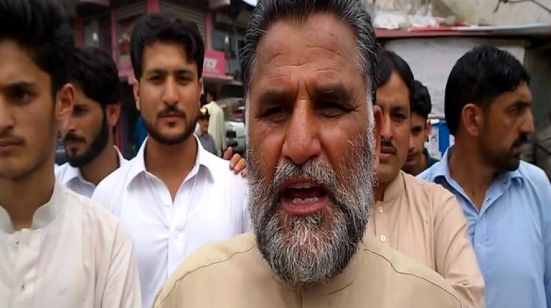 The activist added that Pakistan has been using PoK's territory as a launchpad for terrorists to infiltrate into Jammu and Kashmir.  (Photo: ANI)