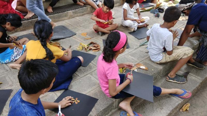There are other workshops and activities happening in the museum.