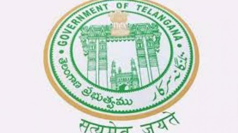 Telangana government logo.