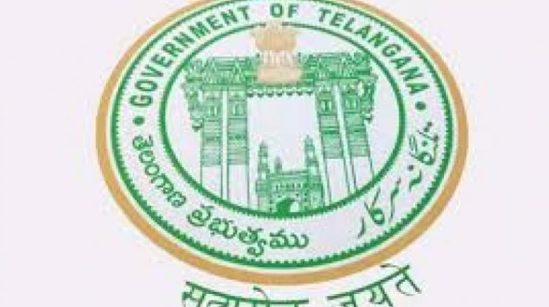 Telangana government logo.