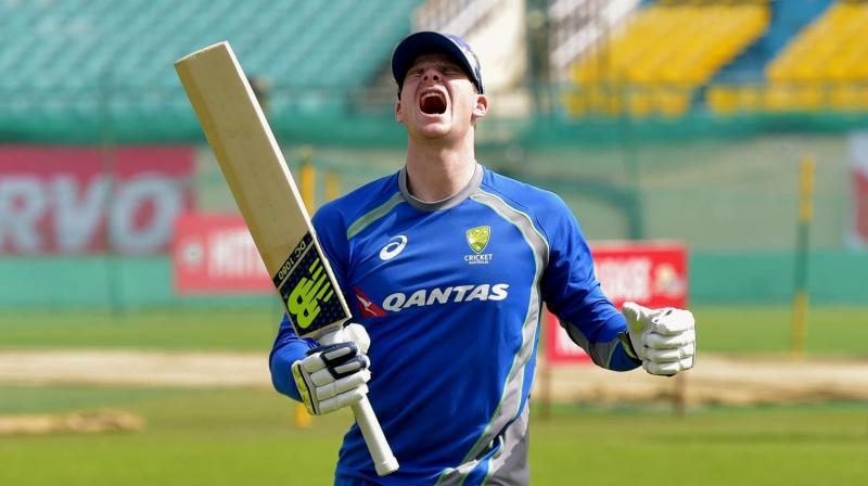 Steve Smith appeared to have hurled abuses at members of the Indian cricket team, mainly Murali Vijay, during the Dharamsala Test. (Photo: PTI)