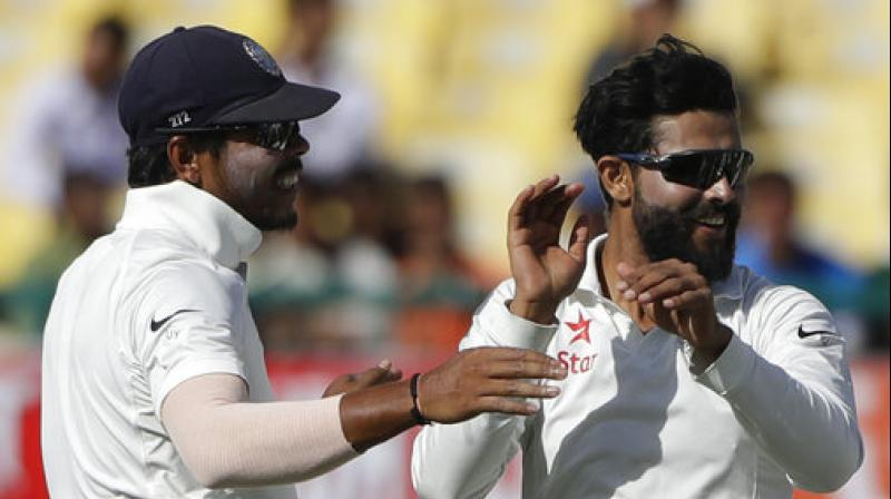 Ravindra Jadeja has taken 25 wickets and scored two half-centuries in the series against Australia. (Photo: AP)