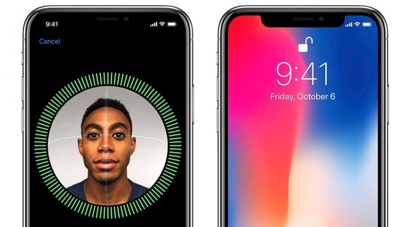 Apple's FaceID replaces the erstwhile TouchID in the new iPhone X.