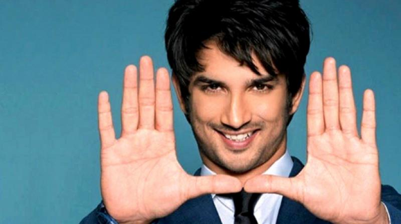 Sushant Singh Rajput in a photoshoot.