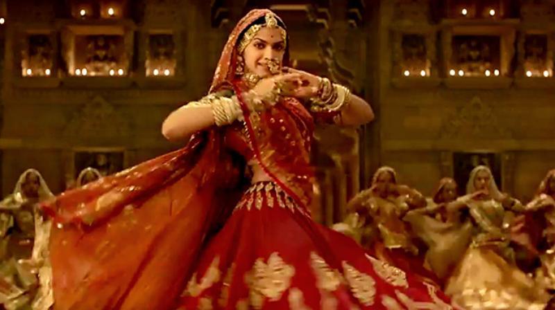 Deepika Padukone in 'Padmaavat' song 'Ghoomar'.