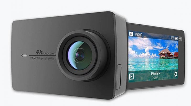 The Yi 4K Action Camera is powered by an Ambarella A9SE chipset that runs on an 800 MHz dual-core Cortex-A9 ARM CPU. The chipset is equipped with a high-performance digital signal processing (DSP) subsystem with a 32-Mpixel image sensor pipeline (ISP), and an advanced H.264 encoder capable of 4K resolution. The image sensor is a 1/2.3-inch Sony IMX377 module that can produce 12 megapixels.