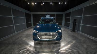 e-tron is Audi's first-ever all-electric series production model.