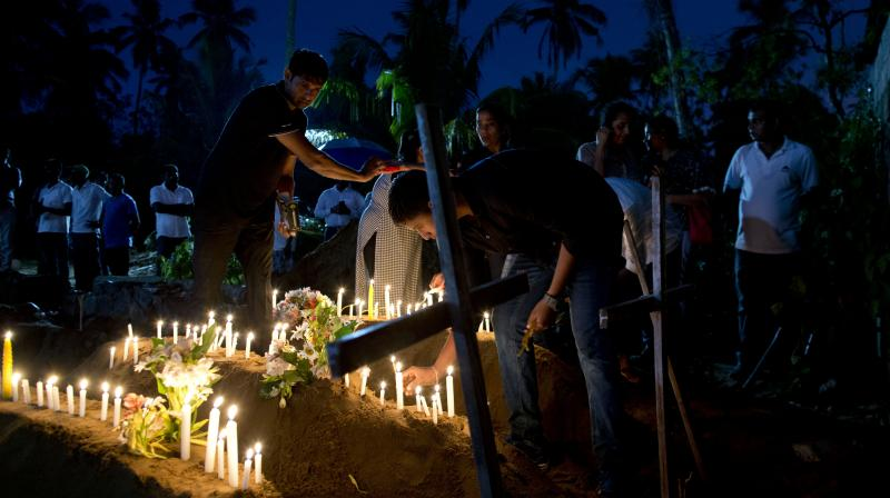 Seven suicide bombers believed to be members of local Islamist extremist group National Tawheed Jamath (NTJ). (Photo:AP)