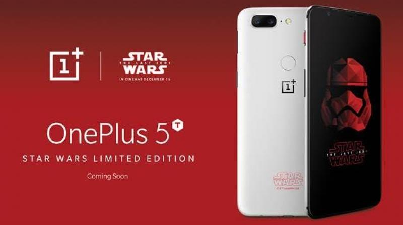OnePlus 5T Star Wars Limited-Edition Might be Exclusive to India