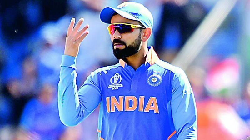 Kohli was effusive in his praise for Ravindra Jadeja (77 off 59 balls), who, in the company of Mahendra Singh Dhoni (50), stitched 116 runs for the seventh wicket to keep India in the hunt. (Photo: File)