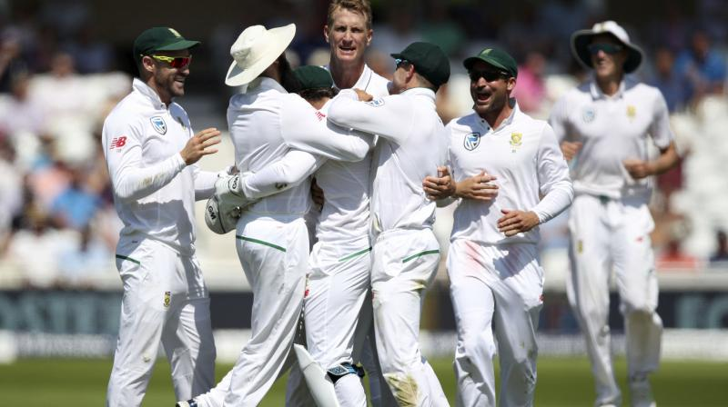 South Africa won the match by 340 runs. (Photo: AP)