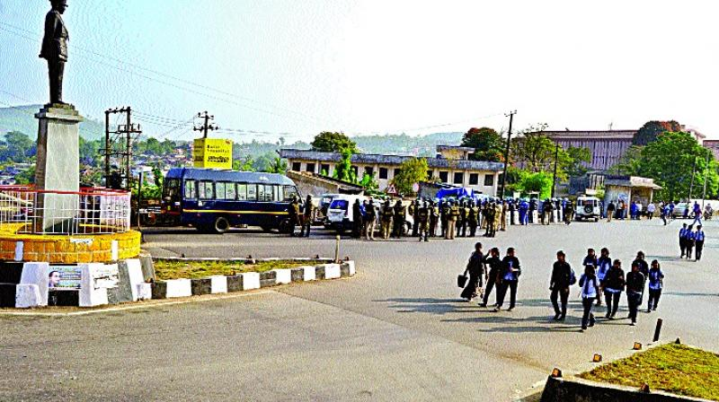 Police said security has been tightened at sensitive places, including Bengaluru, Mangaluru and Kodagu. (Photo: File)
