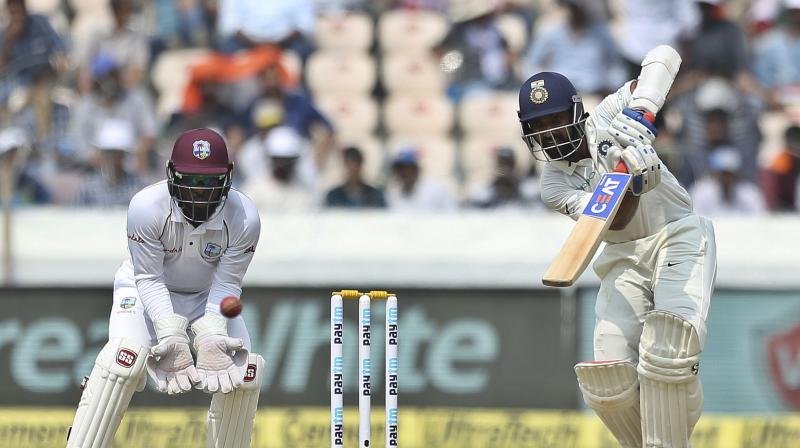 Ajinkya Rahane has put up a 146-run partnership with Rishab Pant so far. (Photo: AP)