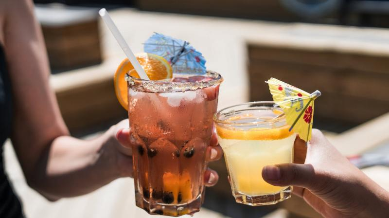 Those who regularly binge drank in high school had lower bone mass in the spine.(Photo: Pexels)