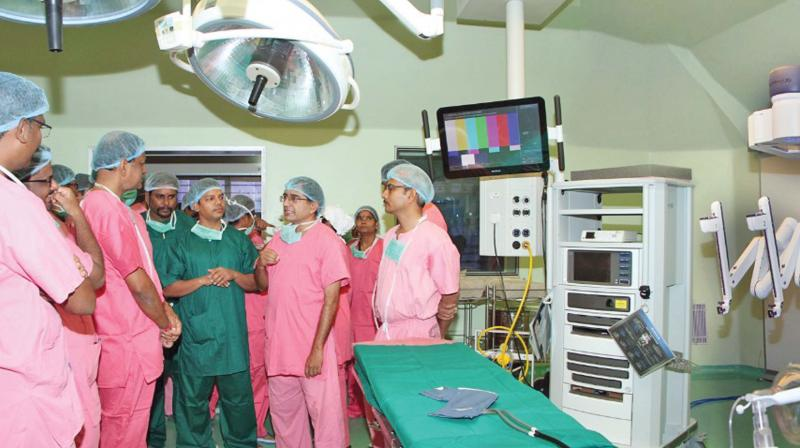Puducherry: 50th successful robotic surgery at Jipmer