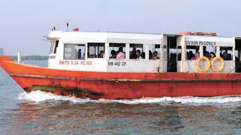 The 25-meter catamaran ferry was built by Kochi-based Navgathi Marine Design & Constructions.  (Representational image)