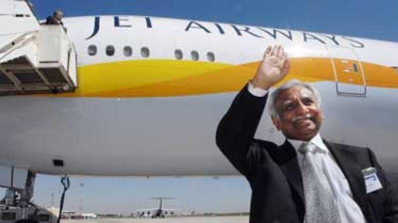Goel was willing to step aside from Jet Airways's board and chairmanship only if Etihad enhanced its quote for Jet shares. (Photo: AFP)