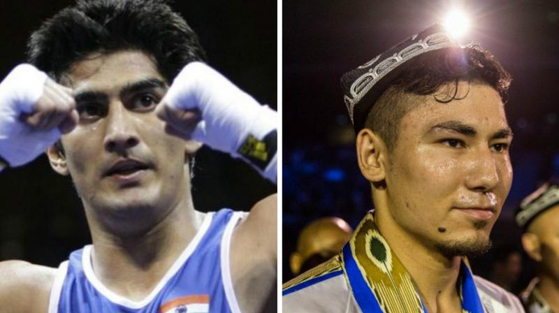 The battle between two of the biggest pro fighters of India and China will decide the King of Asia.(Photo: AFP)