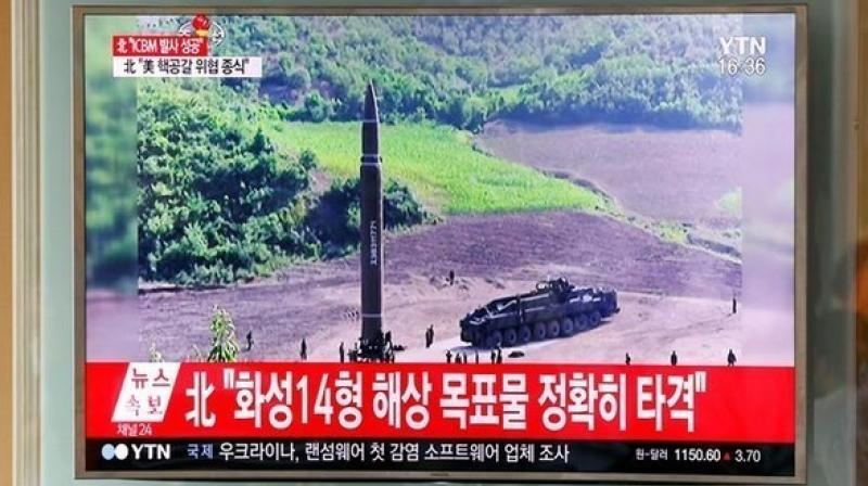 North Korea missile test. (Photo: Twitter | ANI)