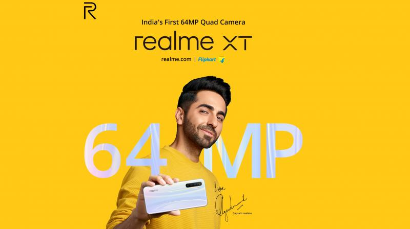 Realme is the fastest growing brand in India.