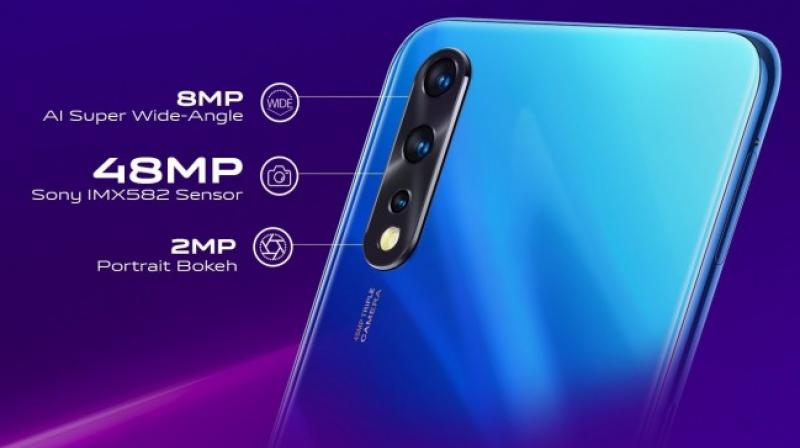 The vivo Z1x will be available in two variants – 6GB+64GB and 6GB+128GB.