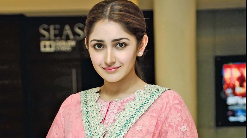 Actress Sayyeshaa