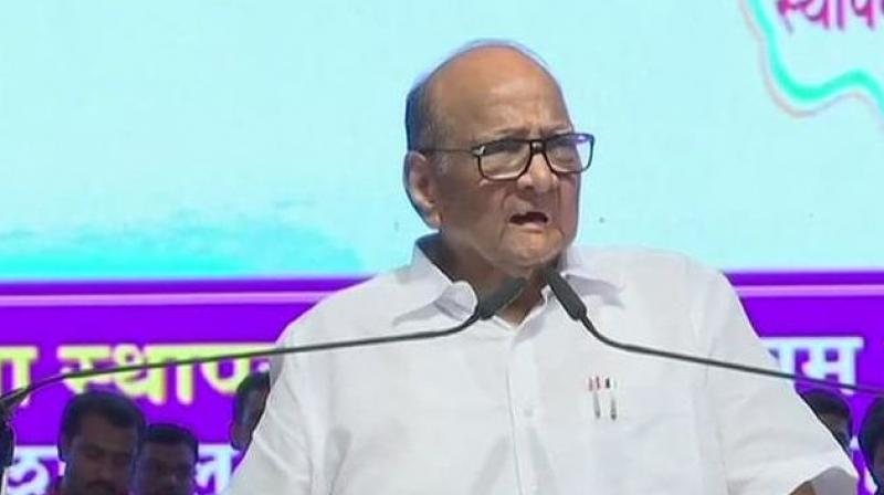 Pawar had skipped the oath ceremony after his party was reportedly miffed about his seat in the fifth row. (Photo: File)