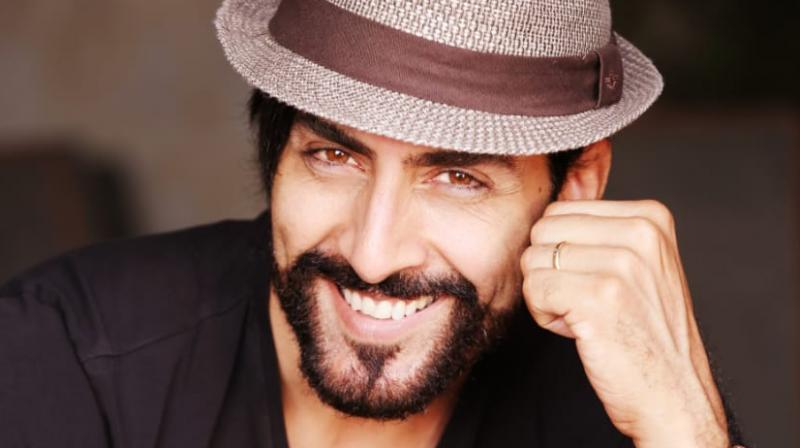Sudhanshu Pandey in a photoshoot.