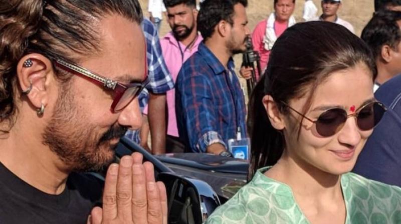 Aamir Khan and Alia Bhatt.
