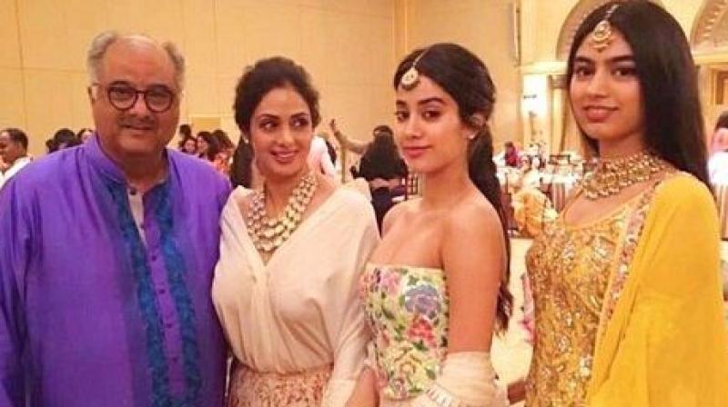 Boney Kapoor planning to make a Documentary on Sridevi's life