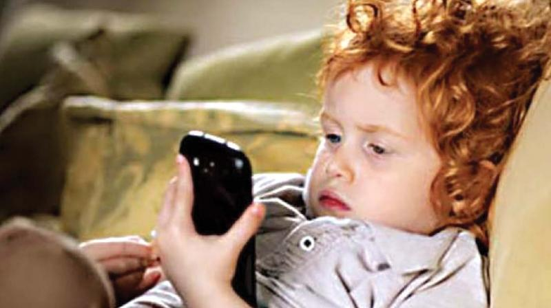 """""""Mobile phone is a double edged sword. While it's the best gadget a child can hold in case of an emergency and for parents to contact their wards, the same can be a device to get connected to all sorts of illicit means too,"""" said Dr Praveen G. Pai of MAGICS."""