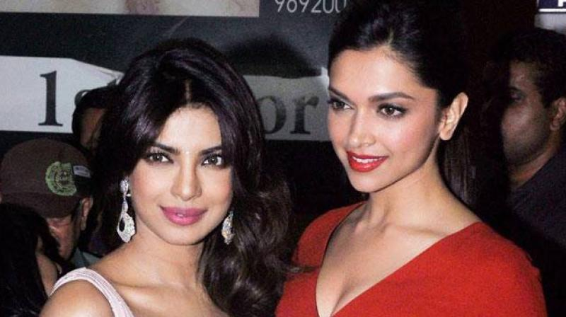 Image result for priyanka chopra and deepika