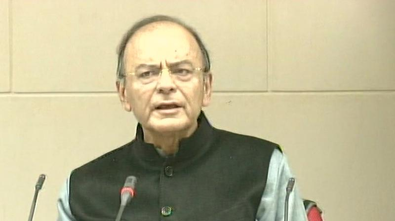 Finance Minister Arun Jaitley. (Photo: ANI)
