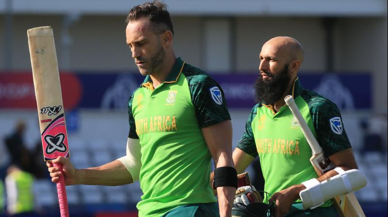 Du Plessis said after seven games, South African batsmen finally managed to put up a decent show with the bat in the World Cup. (Photo: AFP)