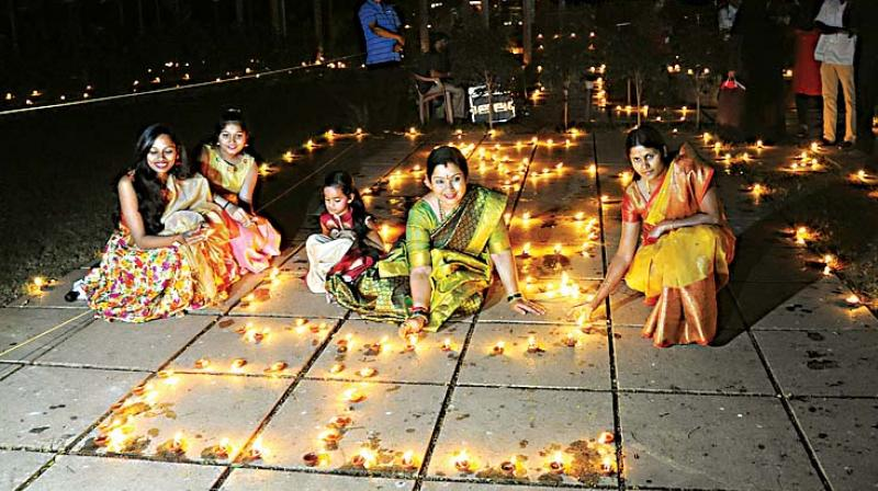 Diwali festivities in various parts of the city.  (DC / KPN)