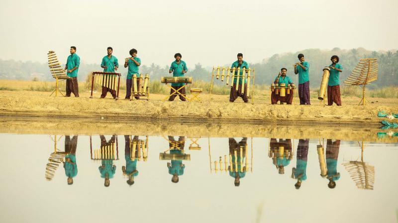 Vayali Bamboo Orchestra
