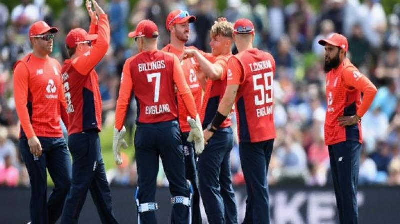 Former England skipper Michael Vaughan on Friday lauded the England team's victory over New Zealand and said they are outstanding in the limited-overs of cricket. (Photo:ECB/Twitter)