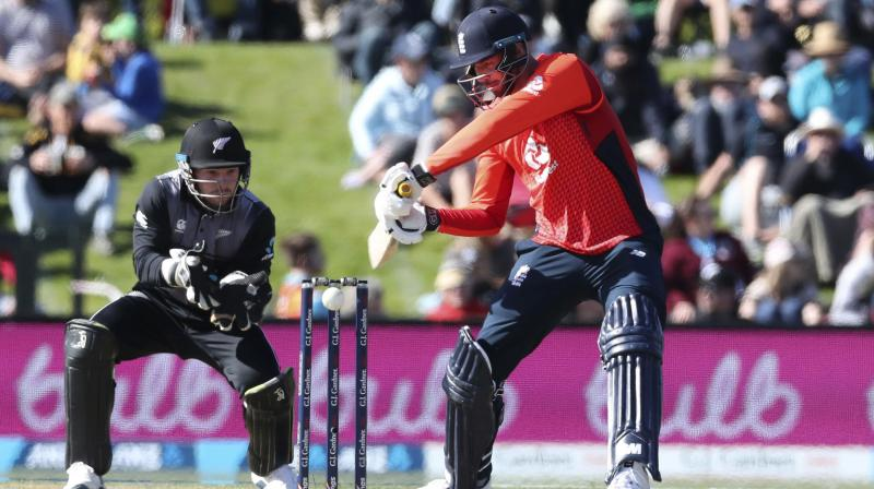After playing a match-winning knock of 59 in the first T20I against New Zealand, cricketer James Vince is hopeful of making it to England's squad for World T20 next year. (Photo:AP)