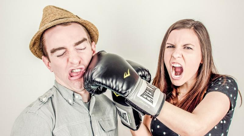 An investigation by the police showed that the man had been slapped 52 times by the woman. (Photo: Representational/Pixabay)