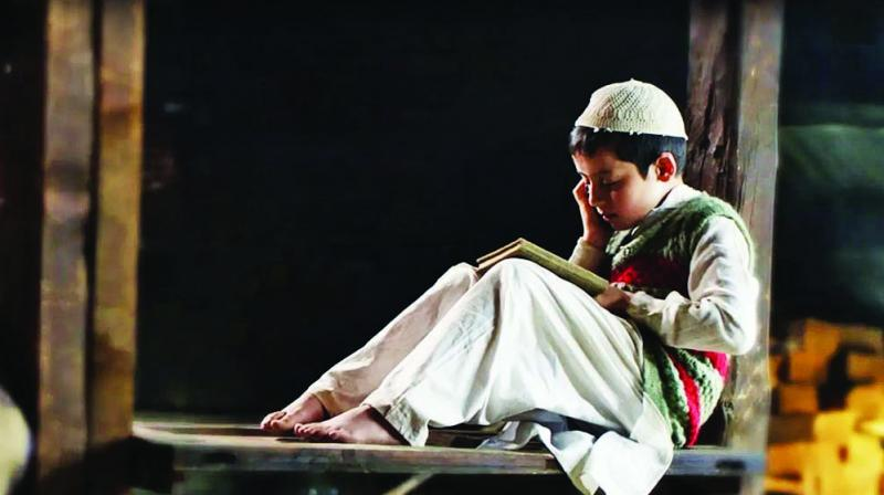 Aijaz Khan's Hamid is the story of eight-year-old Hamid (Talha Arshad Reshi), who is just beginning to learn about Allah and his number — 786, even as there is continuous unrest in his hometown Srinagar and the entire region has a heavy paramilitary presence.
