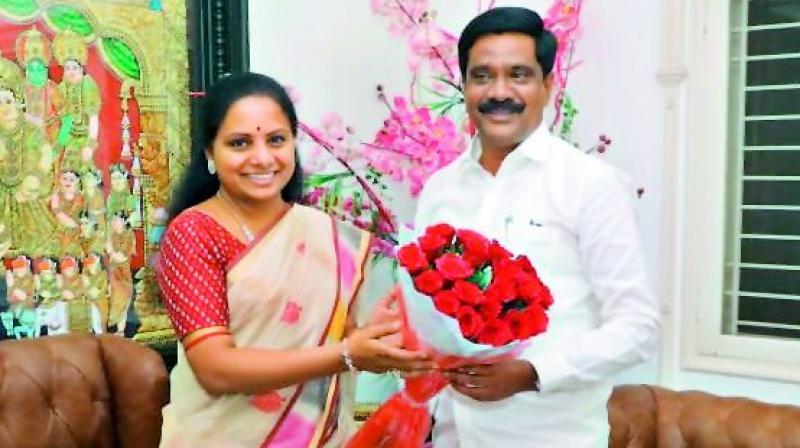 Nizamabad Kcr Loyalist Prashanth Scores In Fresh Cabinet