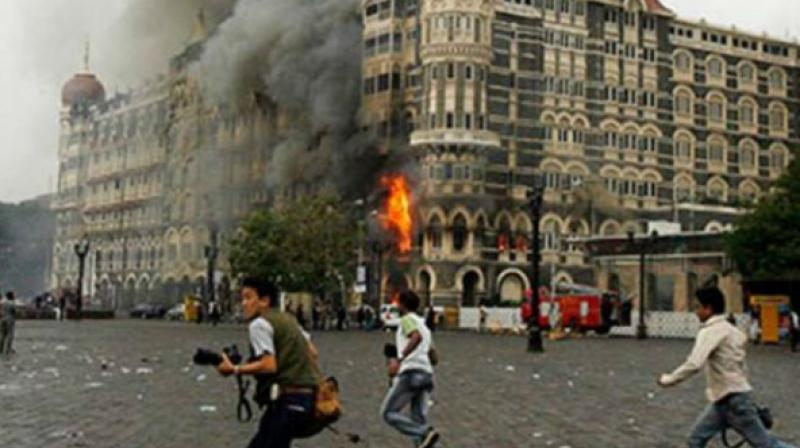 Some 166 people, including US nationals, were killed in 26/11 Mumbai terror attacks carried out by 10 Pakistan-based Let terrorists. (Photo: File)
