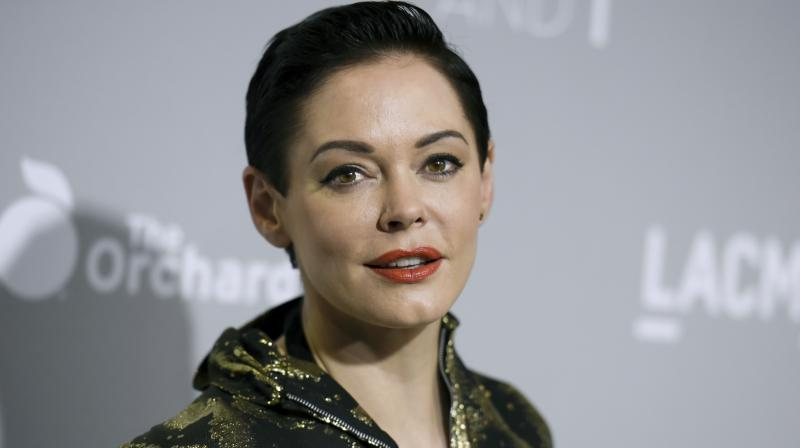 Friday saw American actor Rose McGowan's account being briefly suspended for supposedly violating its terms and policies. (Photo: AP)